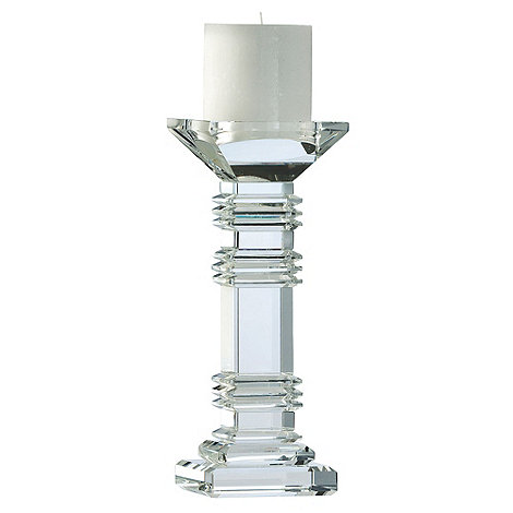 Galway Living - Crystal +Majestic+ Candleholder 10inch