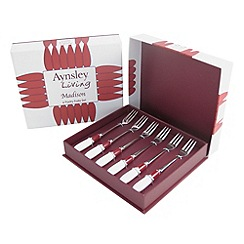 Aynsley China - Madison set of six pastry forks