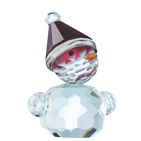 Galway Living - Crystal +Magical+ Blushing Christmas Snowman