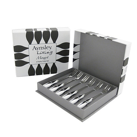 Aynsley China - Mozart set of six pastry forks