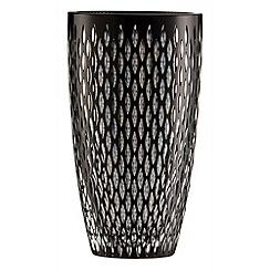 Galway Crystal - Galway Crystal Noir Raindrop 10' vase