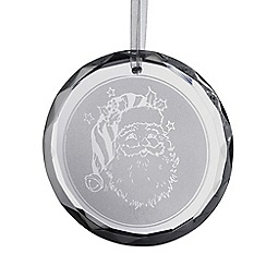 Galway Living - Santa Round Ornament
