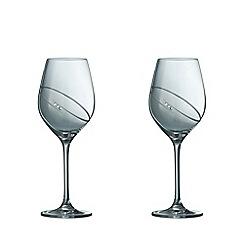Galway Crystal - Galway Crystal Rings Wine (Pair)