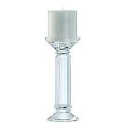 Galway Living - Crystal 'Ritz' Pair Of Candleholders 8inch
