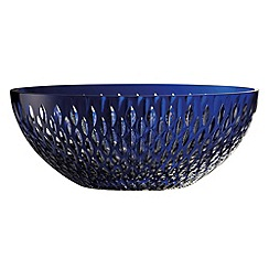 Galway Crystal - Galway Crystal Sapphire Raindrop 11' bowl