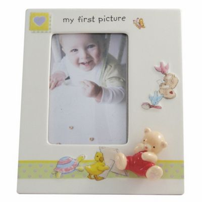Aynsley China Ivory ´My First´ Photo Frame - . -
