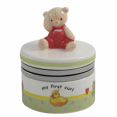 Aynsley China - Ivory +My First+ Curl Box