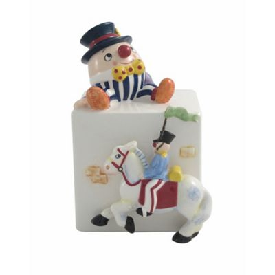 Aynsley China Humpty Dumpty and Soldier Moneybox - . -