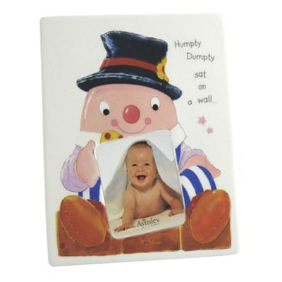 Aynsley China Humpty Dumpty Small Picture Frame - . -