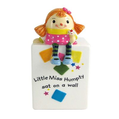Aynsley China Little Miss Humpty Moneybox - . -