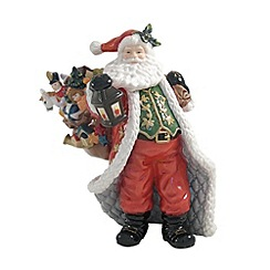 Aynsley China - Santa with long cloak Christmas ornament