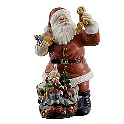 Aynsley China - Santa with Sack of Toys Figurine