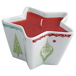 Aynsley China - Let it snow star votive
