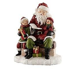 Aynsley China - Santa reading a story figurine