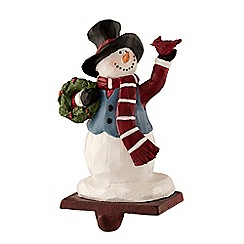 Aynsley China - Tophat snowman stocking holder