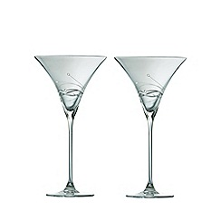 Galway Living - Chic pair of martini glasses