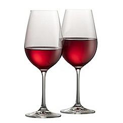 Galway Crystal - Elegance pair of red wine glasses