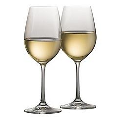 Galway Crystal - Elegance pair of white wine glasses