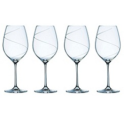 Galway Living - Pure set of four wine goblets