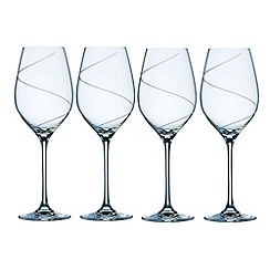 Belleek Living - Pure' Set Of 4 Crystal Wine Glasses