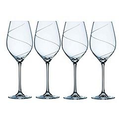 Belleek Living - Pure' Set Of 4 Crystal Wine Glasses