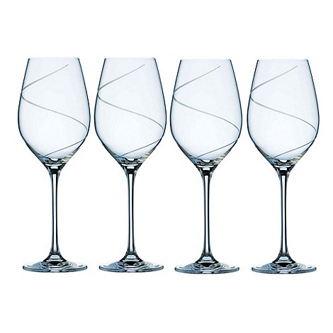 Belleek Living - Pure+ Set Of 4 Crystal Wine Glasses