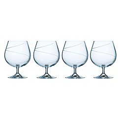 Galway Living - Pure set of four brandy glasses