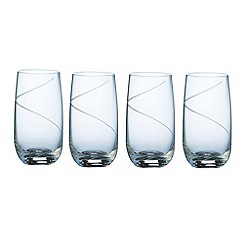 Galway Living - Pure set of four hiball glasses