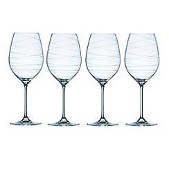 Galway Living - Spiral set of four wine goblets