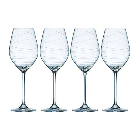 Galway Living - Spiral set of four wine glasses