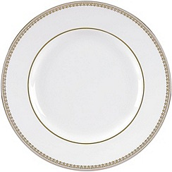 Vera Wang Wedgwood - White 'Gold Lace' dinner plate