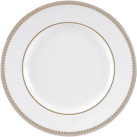 Vera Wang Wedgwood - White +Gold Lace+ dinner plate