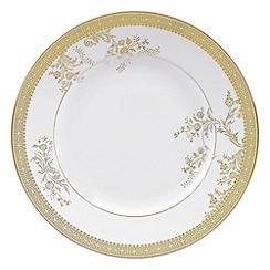 Vera Wang Wedgwood - White 'Gold Lace' dessert plate