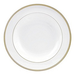 Vera Wang Wedgwood - White 'Gold Lace' rimmed soup platter