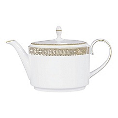 Vera Wang Wedgwood - White 'Gold Lace' teapot