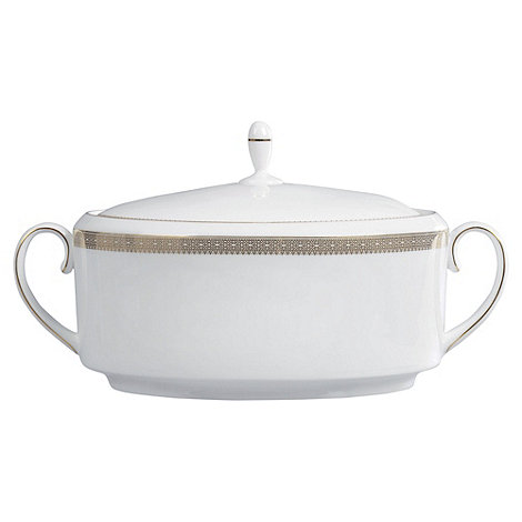 Vera Wang Wedgwood - White +Gold Lace+ soup tureen