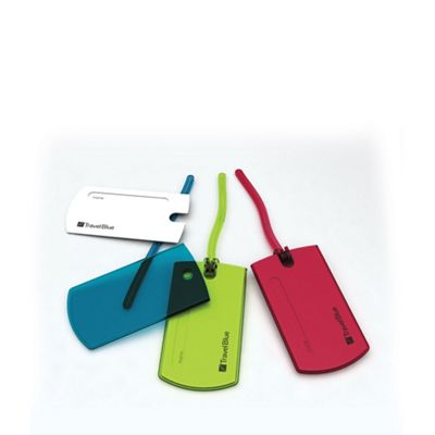 Travel Blue Multi jelly tag (2 tags set) - . -