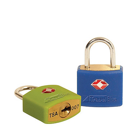 Travel Blue - Tsa identi lock