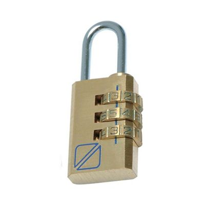 Travel Blue Combi lock - . -