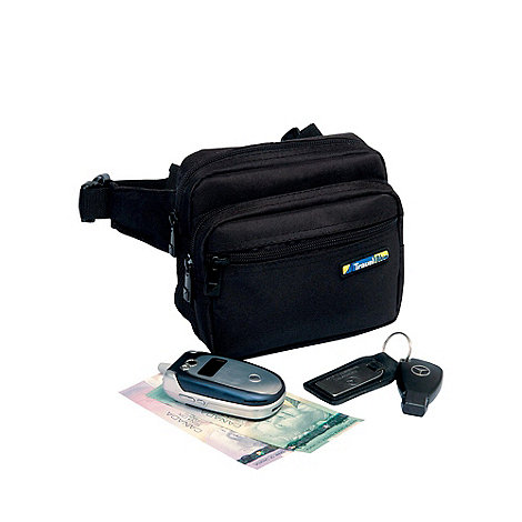 Travel Blue - Black metro pouch