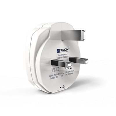 Travel Blue Dual USB Wall Charger UK - . -