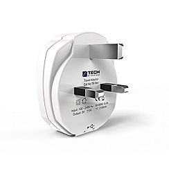 Travel Blue - Travel Blue dual USB wall charger UK