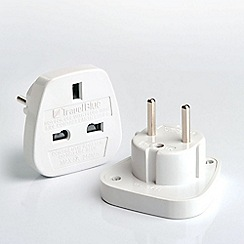 Travel Blue - European adaptor