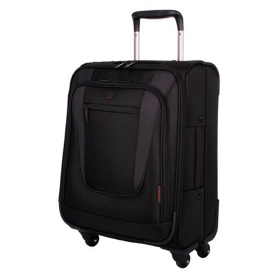 Black Technology Carry On 4 Wheel Suitcase