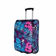 Express Hawaiian 2-Wheel Cabin Suitcase Grape/turq