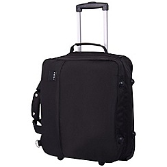 Tripp - Pillo II 2-Wheel Cabin Suitcase Black