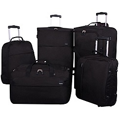 Tripp - Pillo II 2-wheel Suitcase Range in Black