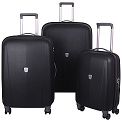 Tripp - Ultimate Lite 4-wheel Suitcase Rage in Black
