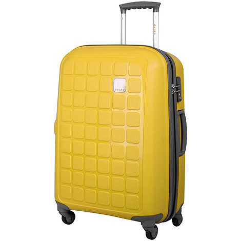 Tripp - Holiday 4 4-Wheel Medium Suitcase in Yellow