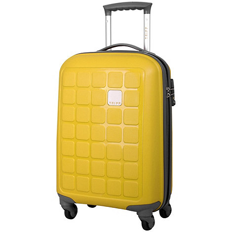 Tripp - Tripp Holiday 4 4-Wheel Cabin Suitcase Yellow